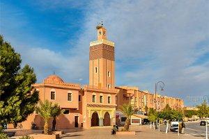 Masuda Wazzkaitih Mosque in Ouarzazate, Morocco