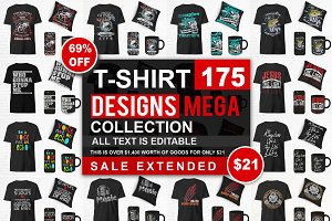 T-Shirt Designs Mega Collection