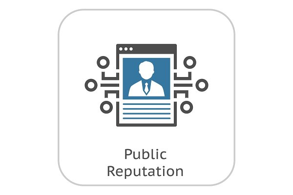 Public Reputation Icon.