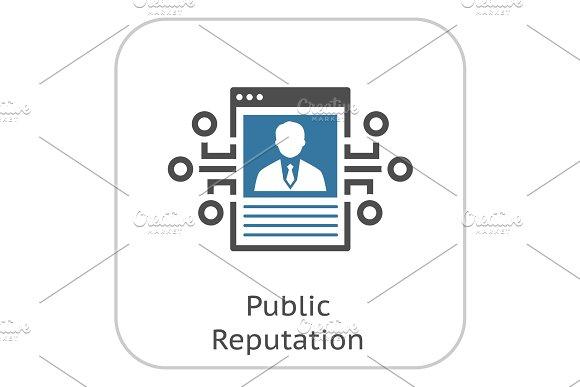 Public Reputation Icon