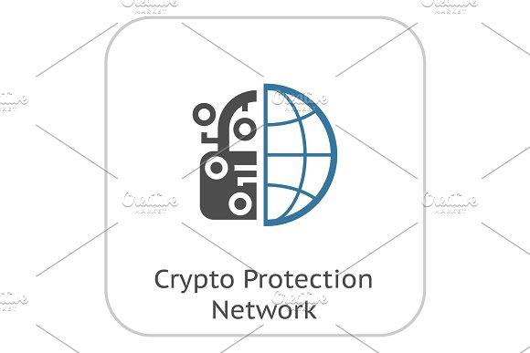 Crypto Protection Network Icon