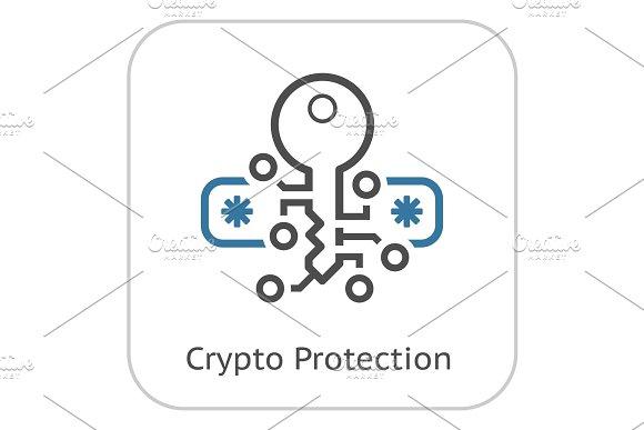 Crypto Protection Icon