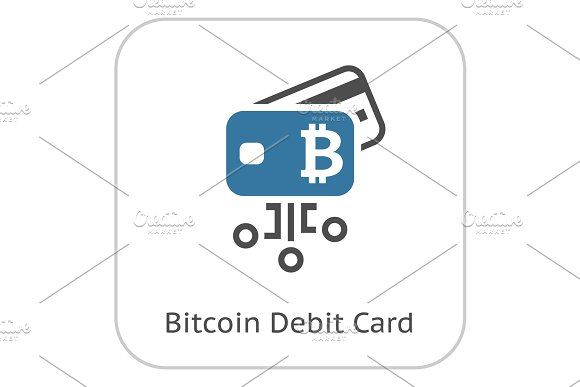 Bitcoin Debit Card Icon
