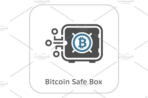 Bitcoin Safe Box Icon