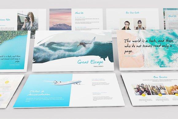 Travel Agency Keynote Template