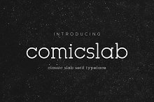 Comicslab Font | New Offer 50% off | by  in Slab Serif Fonts
