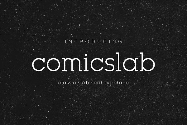 Slab Serif Fonts: Monogram - Comicslab Font | New Offer 50% off |