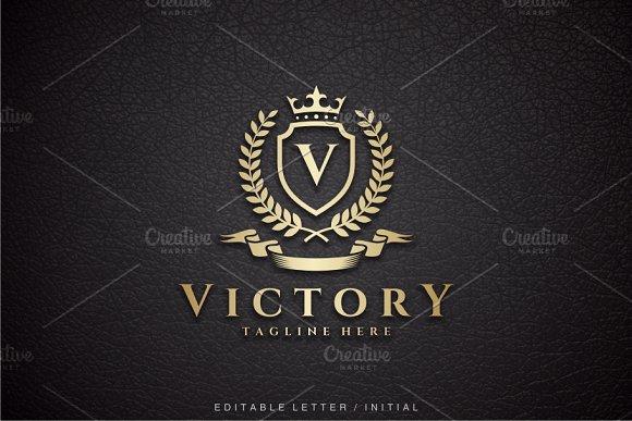 Victory V Logo