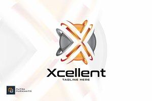 Xcellent / Letter X - Logo template