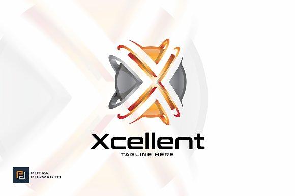 Xcellent Letter X Logo Template