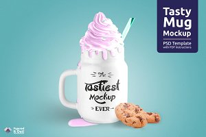 Tasty Mug Mockup