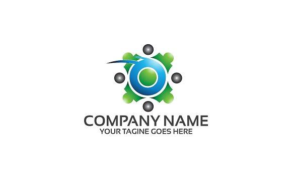 Teamwork Business Logo Template