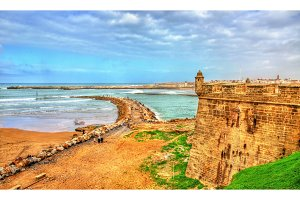 Fortifications of Rabat in Morocco