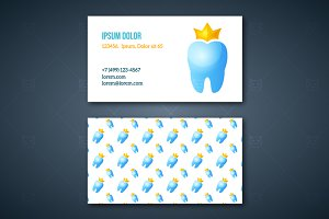 Dentist's Business Cards