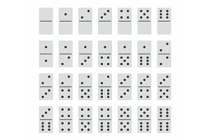 Complete Set of Domino Stones