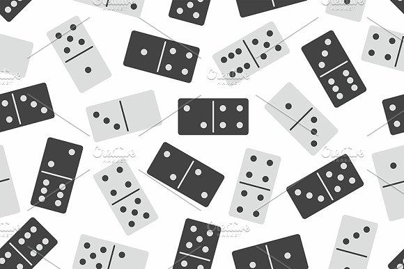 Domino Seamless Pattern