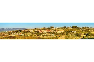 Panoramic view of Meknes in Morocco