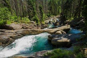 Cold Creek Waterfalls - High Tatras