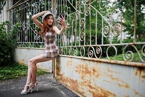 Long legs girl