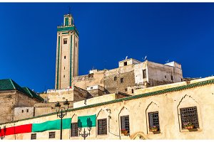 Rcif Mosque in Medina of Fes, Morocco