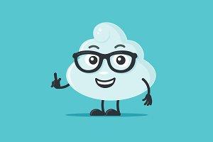 Cloud Mascot