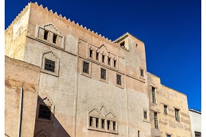 Fes el Bali, the oldest walled part of Fes in Morocco