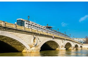 The Pont de Bercy, a bridge over the Seine in Paris, France