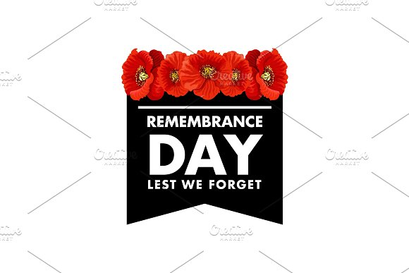 Vector For Remembrance Day