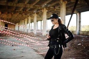Sexy FBI female agent