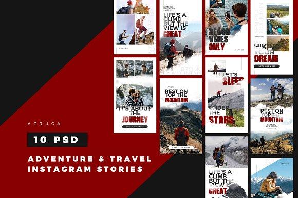 Adventure Travel Instagram Stories