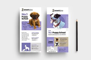 Puppy School DL Card Template