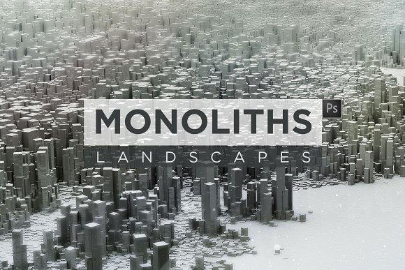 Monoliths Landscapes