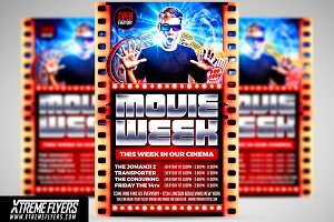 Cinema Flyer Template