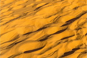 Texture of sand in the Sahara Desert. Merzouga, Morocco