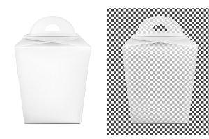 Transparent paper packaging