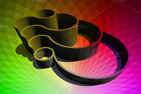 3D Visualization Volumetric Spiral