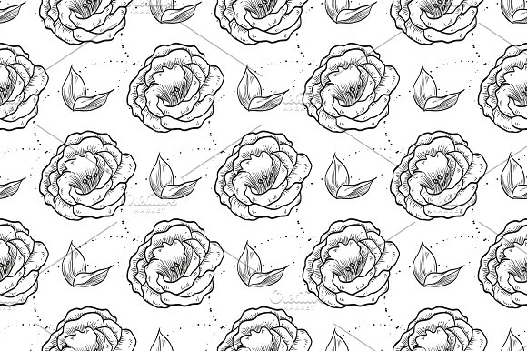 Vector Lisianthus Flowers And Leaves