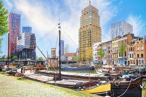 Veerhaven harbour of Rotterdam