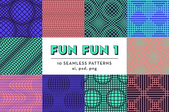 FUN FUN 1 10 Seamless Patterns