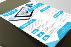 Corporate Flyer Template Vol 12301