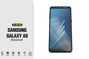 Samsung Galaxy A8 App Mockup v2