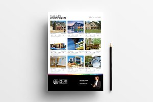 Real Estate Property Sheet Template