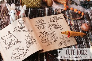 Cute logos for hand-made