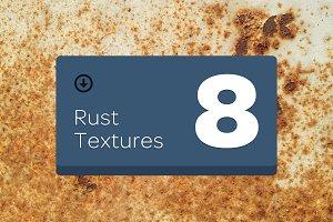 8 Rust Textures