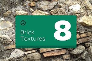 8 Brick Textures