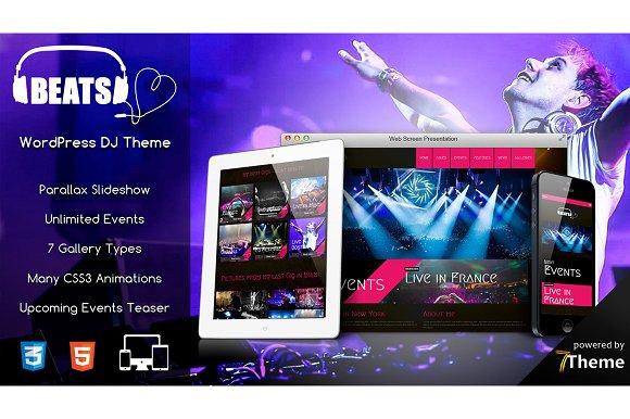 Beats - WordPress Music Theme