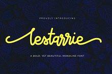 Lestarrie Monoline Font
