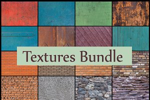 Textures background bundle