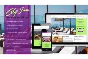 Cityinn - Hotel WordPress Theme