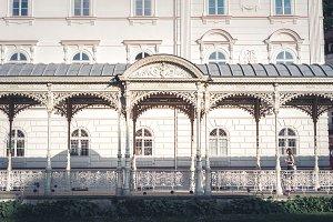 Park Colonnade. Karlovy Vary